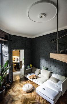 Маленький лофт в историческом доме во Львове (35 кв. м)   Пуфик - блог о дизайне интерьера