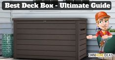 Best Deck Box - Ultimate Guide for Outdoor Storage Boxes 2018