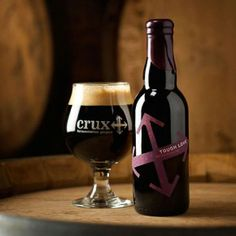 Crux Fermentation Project beer packaging by TBD