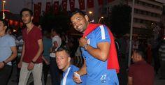 Dos Santos Türk Bayrağıyla yürüdü