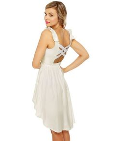 I love cute white dresses for summer. my-style