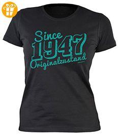 Modisches 70. Jahre Fun Girlie T-Shirt zum Damen und Mädchen Geburtstag Ich bin  nicht 70 Farbe: weiss Gr: L (*Partner-Link). Damen T-Shirt zum Geburtstag:  ...