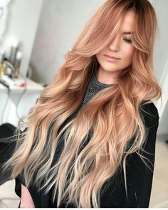 Red Hot Ombre - 60 Best Ombre Hair Color Ideas for Blond, Brown, Red and Black Hair - The Trending Hairstyle Gorgeous Hair Color, Ombre Hair Color, Hair Color Balayage, Cool Hair Color, Hair Colors, Honey Balayage, Brown Balayage, Blonde Balayage, Strawberry Blonde Hair Color