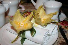 Felted Flower  Napkin decoration Corsage brooch  by itskindesigns, £15.00