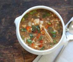 Recipe Szechuan Soup (Hot