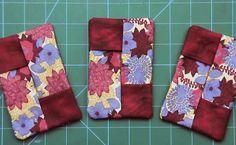 Aprenda a fazer essa linda peça estilo patchwork de um jeito super fácil e rápido com Márcia Satiko