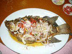 ... at Jalan Universiti in PJ section 17. Thai style deep fried tilapia