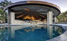 The Elrod House by John Lautner. Palm Springs CA