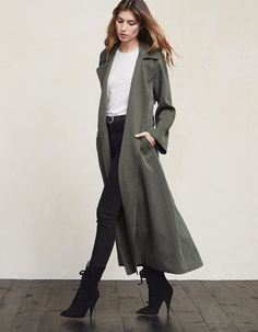 Reformation Kingston Trench via thereformation.com $268.00