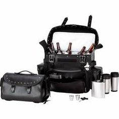 Get ready for the next RALLY! & Bike Week Trunk Bag/cooler Bag Set with ALL this for $107