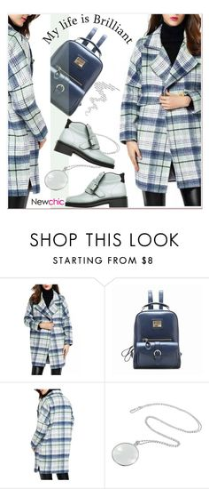 """plaid coat"" by paculi ❤ liked on Polyvore featuring Acne Studios"