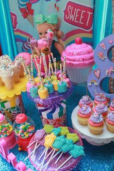 Red Balloon Events P's Birthday / Jojo Siwa - Photo Gallery at Catch My Party Jojo Siwa Birthday Cake, Candy Theme Birthday Party, Birthday Party At Home, Candy Party, Unicorn Birthday Parties, 8th Birthday, Birthday Party Decorations, Candy Land Theme, Birthday Ideas