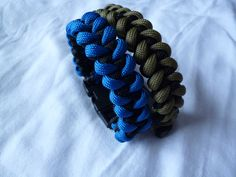 Piranha Knot Wrist Strap/Bracelet 550 Paracord