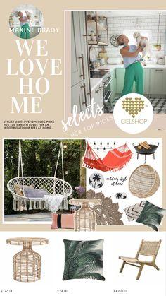Shop My New Garden Collection For CielShop Interiors - WeLoveHome - Home Outdoor Garden Rooms, Garden Picnic, Outdoor Living Rooms, Interior Design Advice, Interior Stylist, Love Home, Shop Interiors, Small Gardens, Home And Living