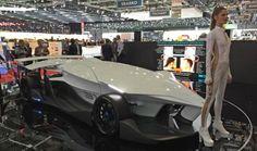 "2015 Geneva Motor Show: The ""Torq"" Race Car – No Windows – Driver Is Optional [Self-Driving Cars: http://futuristicnews.com/tag/self-driving/ Electric Cars: http://futuristicnews.com/tag/electric-vehicle/]"