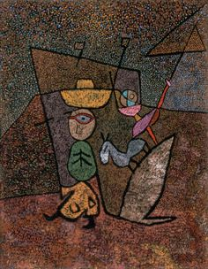 Exhibit B in the #RenoirReturns story challenge is:  Paul Klee. Traveling Circus. 1937. The Baltimore Museum of Art: Bequest of Saidie A. May, BMA 1951.317  Add your entry to http://blog.artbma.org/2014/03/exhibit-b/ by 5pm EST 2 April 2014 and get voted into the continuing story!