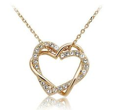 Red Apple 18k RGP Swarovski Crystal Heart-shaped Necklace for Women Rose Gold Reviews - http://betyoudo.com/red-apple-18k-rgp-swarovski-crystal-heart-shaped-necklace-for-women-rose-gold-reviews/ #Apple, #Crystal, #Gold, #Heartshaped, #Necklace, #Reviews, #Rose, #Swarovski, #Women #Jewelry
