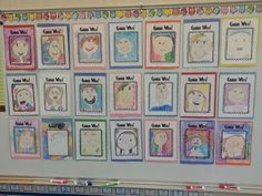 """""""Guess Who?"""" Bulletin Board - I'm sure I've already pinned this, but I'll pin it again - great for back to school."""