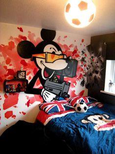 Wallpaper Bedroom Boys Graffiti Wallpaper Graffiti Kings 7558 › Cool ...