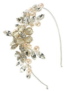 the 8 best side tiaras and headdresses images on pinterest bridal