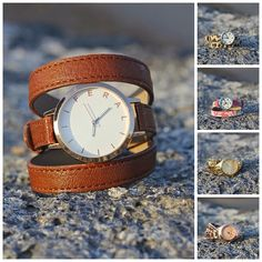 love the leather wrap watch.... by feralwatches