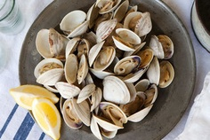 Grilled Clams with Herb Butter — Recipe from Bon Appetit