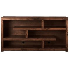 48-inch Cappuccino Hollow-core TV Console - Overstock Shopping - Great Deals on Entertainment Centers