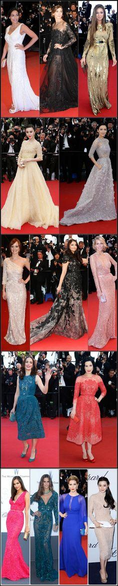 #Vestidos de #Eliee #Saab en la #alfombra #roja #red #carpet de #cannes 2013