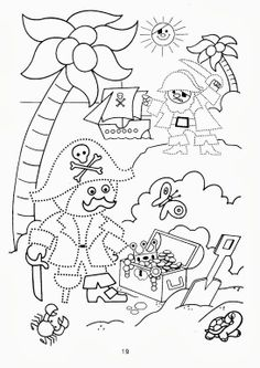 E-mail - Mariëlle Stals-Nijhuis - Outlook Jack Le Pirate, Pirate Kids, Pirate Day, Pirate Birthday, Preschool Pirate Theme, Pirate Activities, Fine Motor Activities For Kids, Colouring Pics, Coloring Pages