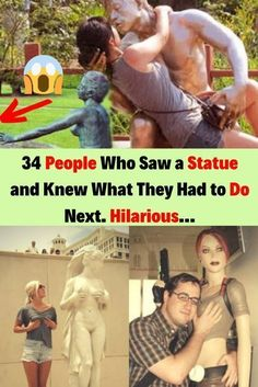34 People Who Saw a Statue and Knew What They Had to Do Next. Pride Parade, Daily Funny, Hollywood Celebrities, New Pins, Funny Fails, Confessions, Girl Power, Cute Girls, Cool Photos