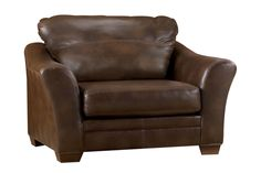 Barclay+Over-sized+Leather+Chair+from+Gardner-White+Furniture
