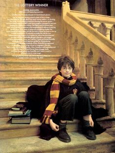 """Daniel Radcliffe stars as Harry Potter in """"Lottery Winner."""" Photographed by Annie Leibovitz for Vanity Fair January 2001 issue. Harry James Potter, Saga Harry Potter, Daniel Radcliffe Harry Potter, Mundo Harry Potter, Harry Potter Icons, Harry Potter Feels, Harry Potter Pictures, Harry Potter Aesthetic, Harry Potter Universal"""