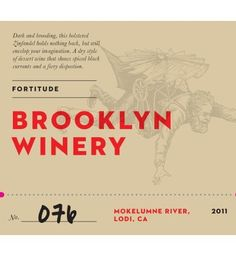 Dessert Wine.....2011 Brooklyn Winery Fortitude 375 mL -- Find out @ http://www.amazon.com/gp/product/B00GCH2GLQ/?tag=wine3638-20&pij=180816095233