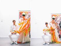 Neon Wedding Inspiration