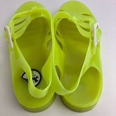 439c52687163 JuJu Shoes - Juju jellies shoes neon yellow size 7 US 5 UK