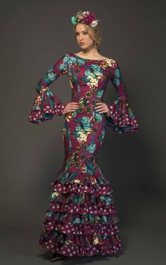 Ankara Dress, African Dress, African Lace, Flamenco Costume, Spanish Dress, Modelos Fashion, Spanish Fashion, Fantasy Dress, Ballroom Dress