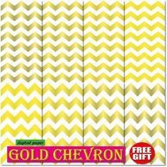 50%OFF Gold Chevron digital paper chevron wallpaper by DIGIFT