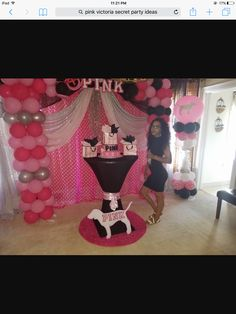 Victoria Secret Pink Birthday Party Ideas - Craft and Beauty Hotel Party, Hotel Birthday Parties, Birthday Party For Teens, 18th Birthday Party, Pink Birthday, Birthday Party Decorations, Birthday Ideas, Birthday Presents, Victoria Secret Party