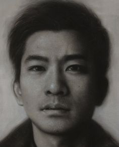 Joongwon Jeong - May 2014 -    지난번에 올린 작업 확대본입니다. 종이에 목탄 & 파스텔 A close-up of the drawing I posted earlier. Charcoal & pastel on paper. See Translation  — with Hyeonjun Jeong.
