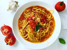My lovely pasta with tomato souce:) recipe its at : zlatica zarska.com