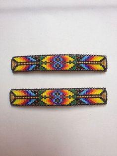 Nativos americanos abalorios broches. por CameronGoods en Etsy