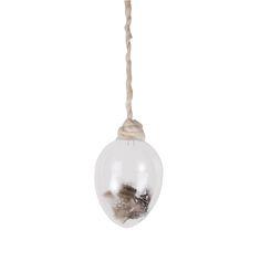 Glassegg med perlehønsfjær | Kremmerhuset #Kremmerhuset #Interior #Inspiration Gull, Light Bulb, Lighting, Home Decor, Decoration Home, Light Fixtures, Room Decor, Lightbulbs, Lights