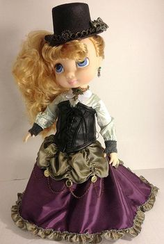 "Steampunk Briar Rose (Sleeping Beauty) - a re-dressed Disney Animators' Collection 16"" Doll"