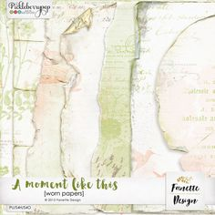 A moment like this {worn papers} by Fanette Design #fanettedesign #pickleberrypop #digitalscrapbooking #picklebarrel #wedding
