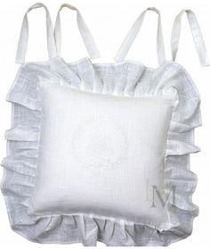 Poszewka na krzesło Emmy Biel Bed Pillows, Pillow Cases, Shabby Chic, Home Decor, Pillows, Decoration Home, Room Decor, Shabby Chic Style, Interior Decorating