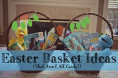 Easter Basket Ideas (That Aren't All Candy) | Charlotte Moms Blog