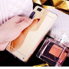 Hot! Luxury Mirror Electroplating Soft Clear TPU Case cover For huawei P8 / P8 lite P9 P9 Plus P9 lite G9