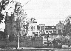 Palacete del Conde de la Maza en Castellana, 38. Construido en 1907 y DESAPARECIDO en los 60.