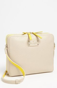 kate spade new york grove court - jordan crossbody bag with iPad case available at Nordstrom