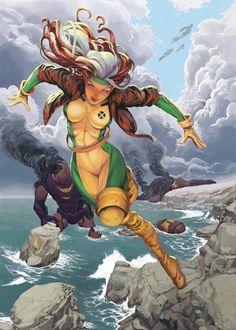Rogue - my favorite female superhero